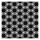 The Crafters Workshop - 12x12 Template - Honeycomb