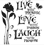 The Crafters Workshop - 12x12 Template - Live Love Laugh