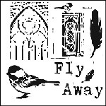 "The Crafter's Workshop 12""x12"" Stencil - FlyAway"