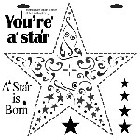"*Crafter's Workshop Templates 12""x12"" Star"
