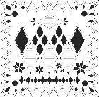 "*Crafter's Workshop Templates 12""x12"" Diamonds"