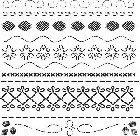 "Crafter's Workshop Templates 12""x12"" Deco Stitches"