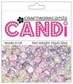 Candi Embellishments - Flower Power - Juliette