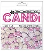 Candi Embellishments - Flower Power - Amelia