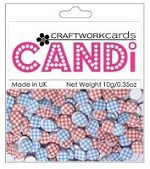 Candi Embellishments - Gingham - Galaxy