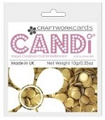 Candi Embellishments - Colour Pop Gold Bar