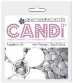 Candi Embellishments - Colour Pop Silver Gilt