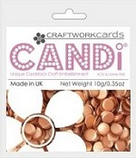 Candi Embellishments - Colour Pop Butterscotch
