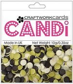 Craftworkcards - Candi Embellishments - Chocolate Limes