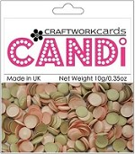 Craftworkcards - Candi Embellishments - Chocolate and Marshmallo