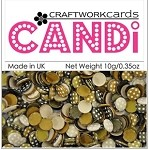 Candi Embellishments - Coffee Bean