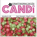 Candi Embellishments - Holly Berries