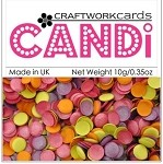 Candi Embellishments - Hot Tropics