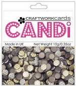 Candi Embellishments - Metallique Bronze