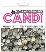 Candi Embellishments - Metallique Steel