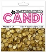 Candi Embellishments - Metallique Tungsten