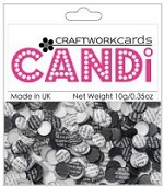 Candi Embellishments - Newsprint