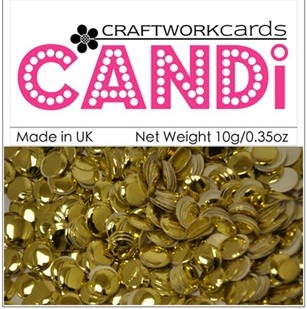 Candi Embellishments - Regal Gold