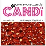 Candi Embellishments - Regal Ruby