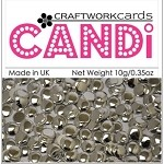 Candi Embellishments - Regal Silver