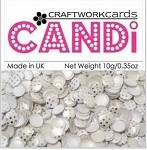Candi Embellishments - Silver Wedding