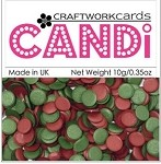 Candi Embellishments - Vintage Berries