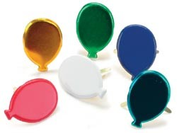 Creative Impressions-Brads-primary balloons 50/box