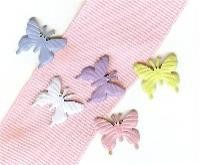 Creative Impressions-Brads-soft butterfly 25/box