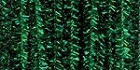 Darice-6mm Chenille Stems-Tinsel Green