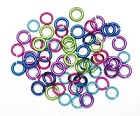 Darice-10mm Aluminum Jump Rings-Brights