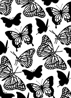 Darice Embossing Folder (Size A2) - Butterflies