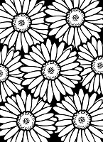Darice Embossing Folder (Size A2) - Bold Daisy