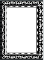 Darice Embossing Folder (Size A2) - Photo Frame