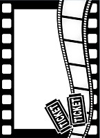 Darice Embossing Folder (Size A2) - Movie Theme