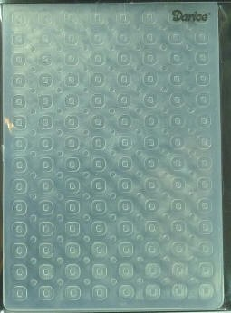 Darice Embossing Folder - Circle (Size A2)