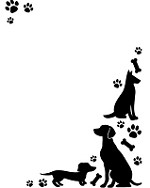 "Darice Embossing Folder - Size 4.25"" x 5.75"" - Dogs"