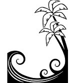 "Darice Embossing Folder - Size 4.25"" x 5.75"" - Palm Trees"