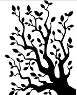 "Darice Embossing Folder - Size 4.25"" x 5.75"" - Tree Branches"