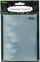 Darice Embossing Folder (Size A2) - Lanterns