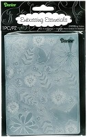 Darice Embossing Folder (Size A2) - Floral