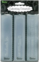 "Darice Embossing Folder - (Size:  1 1/2"" x 5 3/4"") - Handmade By Borders"