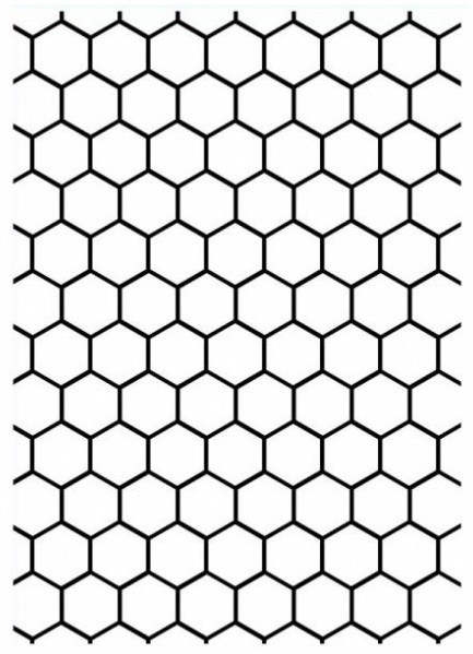 Embossing folder size 5x7 honeycomb background darice embossing folder size 5x7 honeycomb background voltagebd Image collections