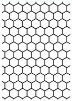 Darice Embossing Folder - Size: 5x7 - Honeycomb Background