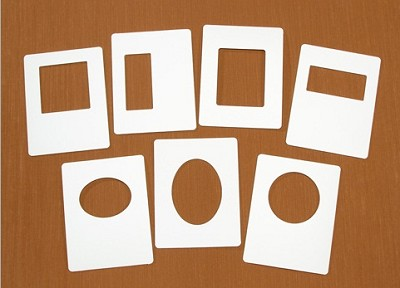 Darice - EZFrames Assortment - 7 Pack -Diffusers  For Embossing