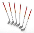 Darice-Plastic Golf Clubs (6 pieces)