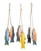 Darice-Painted Fish (6 pieces)
