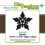 Die-Versions Die - Sweet Petites - Snowflake