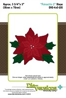 Die-Versions Die - Shapes - Poinsettia 2
