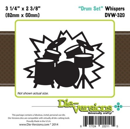 Die-Versions Die - Whispers - Drum Set