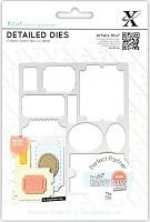 DoCrafts - Xcut Die - Nesting Ticket Stubs